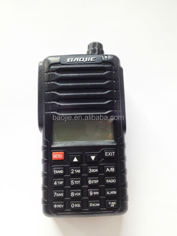 50 groups CTCSS UHF and VHF 5W Dual frequency two way radio baojie BJ-UV88