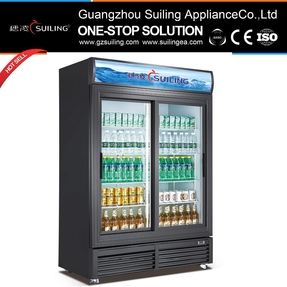 Finden Sie Hohe Qualität Schiebetür Kühlschrank Hersteller und ...