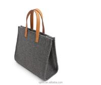 alibaba china factory wholesale 2017 trending products custom new designer felt fashion ladies handbag
