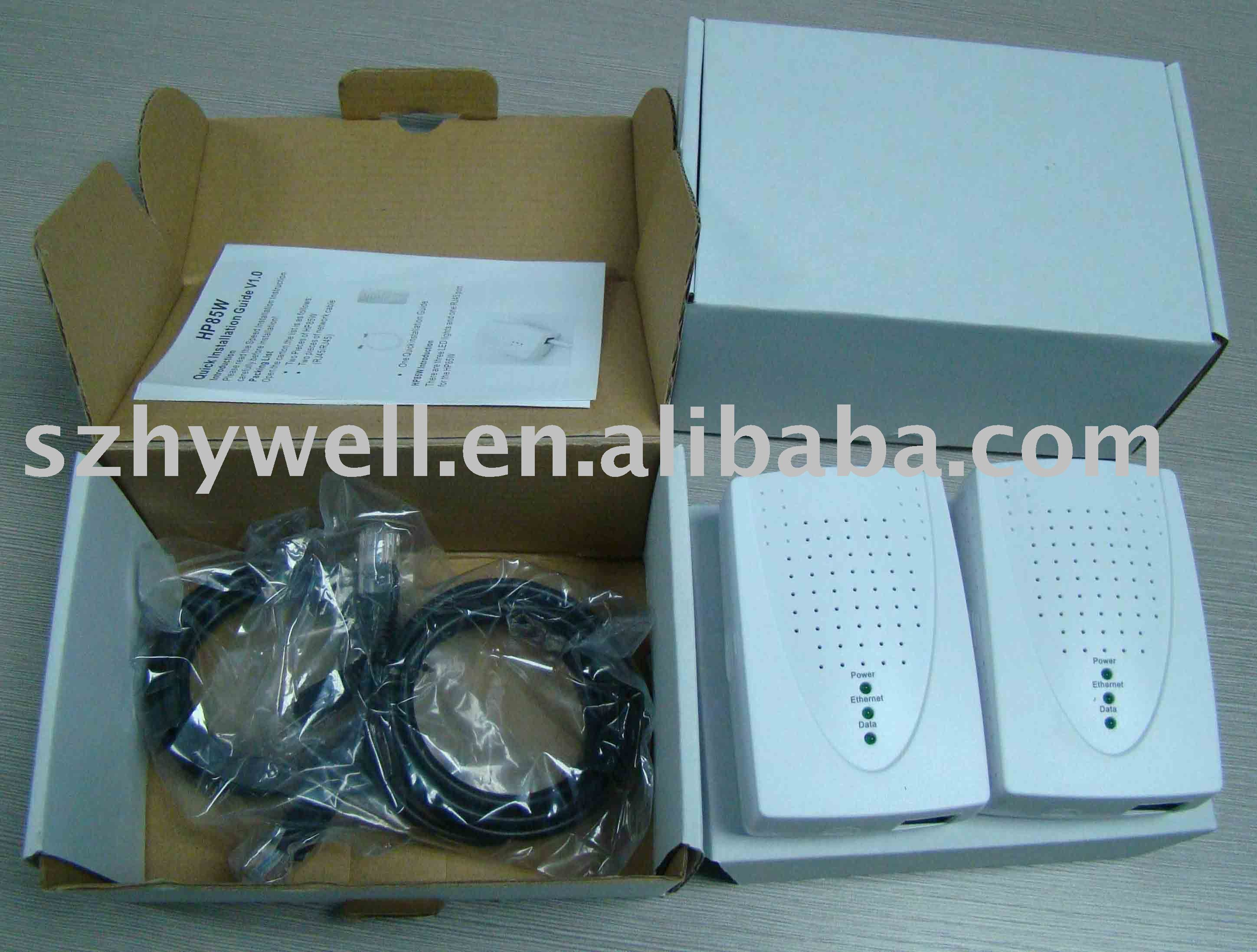 Homeplug Ethernet Adapter for Powerline Adaptor