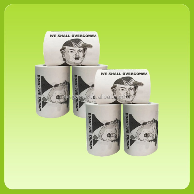 Wholesale Custom Printed  bulk sale printing Toilet Paper