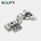 Kolity Brand Furniture Fitting Cabinet Hinge Good Quality Stainless Steel More Nickel Less Manganese