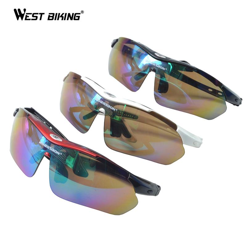 West Biking Color 5 Lentes Quadro óculos de Sol Do Esporte Óculos De Bicicleta MTB Bicicleta Ciclismo Ao Ar Livre Esportes Óculos Polarizados Óculos Esportes