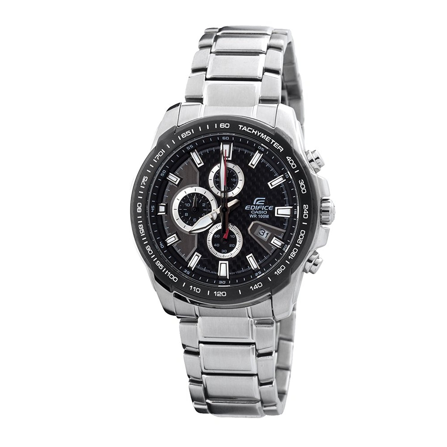"Casio Men's EF563DB-1AV ""Edifice"" Stainless Steel Watch"