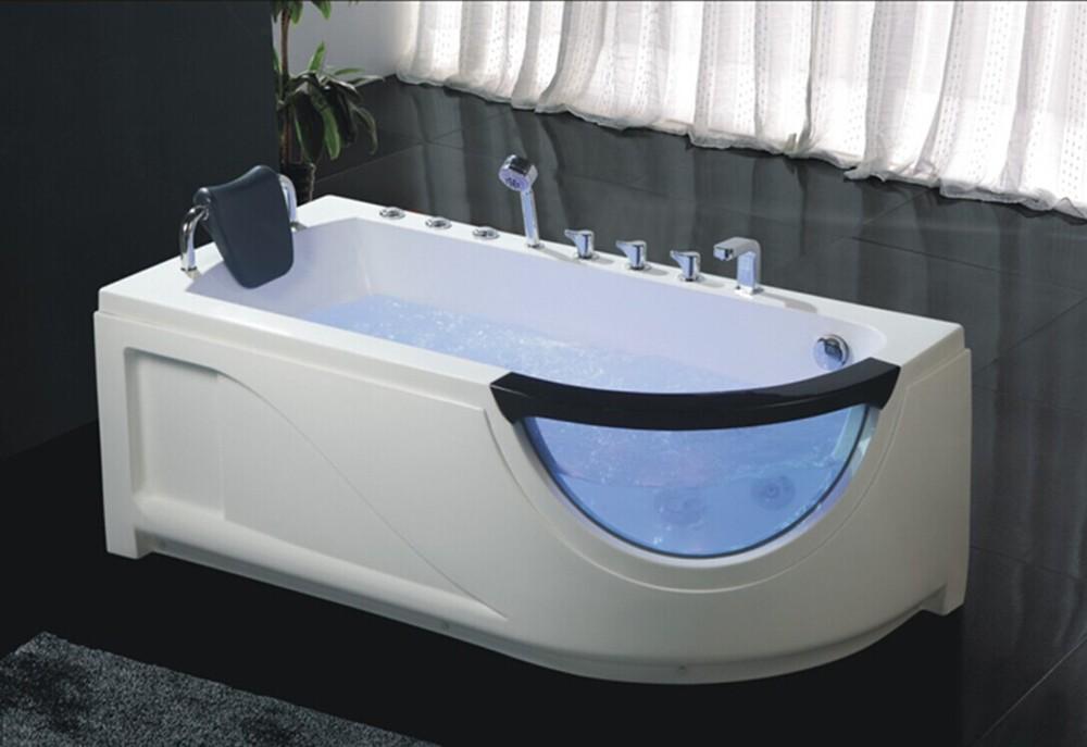 HS-B279 acrylic hydromassage bathtub,jetted black bathtub,bath tub ...