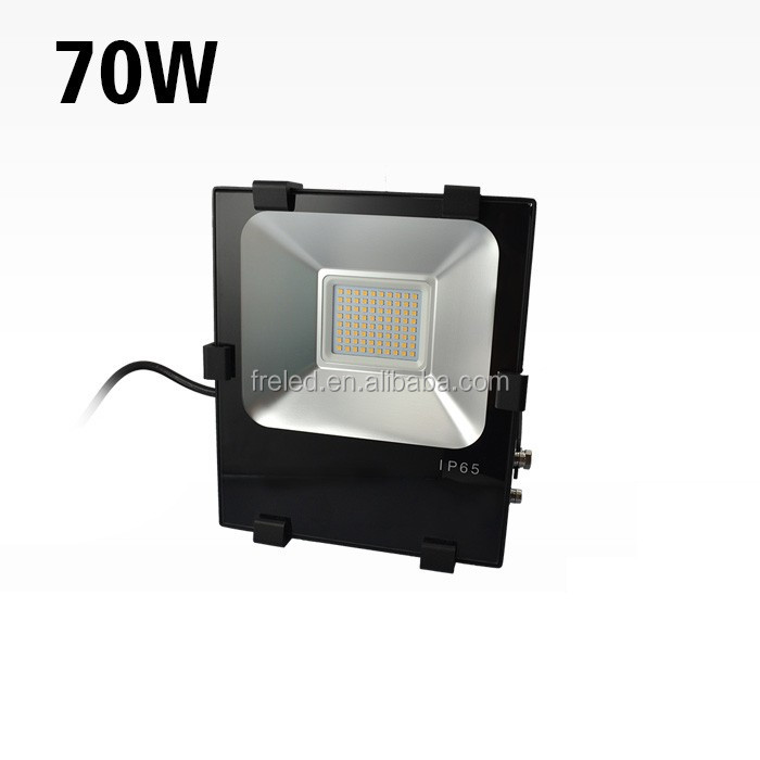 Smart design heat sink with Microwave sensor IP65 waterproof 70W driverless LED floodlights