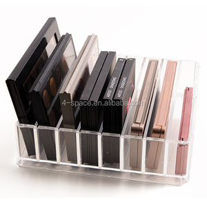 Acrylic Compact Makeup Organizer Solutions Clear Makeup Palette Organizer