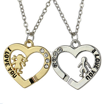 Boys and girls heart couples i love you pendant necklace for boys and girls heart couples i love you pendant necklace for boyfriend and girlfriend aloadofball Image collections