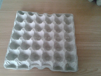 30 chicken eggs paper pulp egg tray buy egg tray 30 for How to make paper egg trays