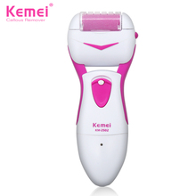 Kemei2502 Feet Care Tool Electric Exfoliator Pedicure Callus Skin Remover Personal Care Peeling Foot Massager