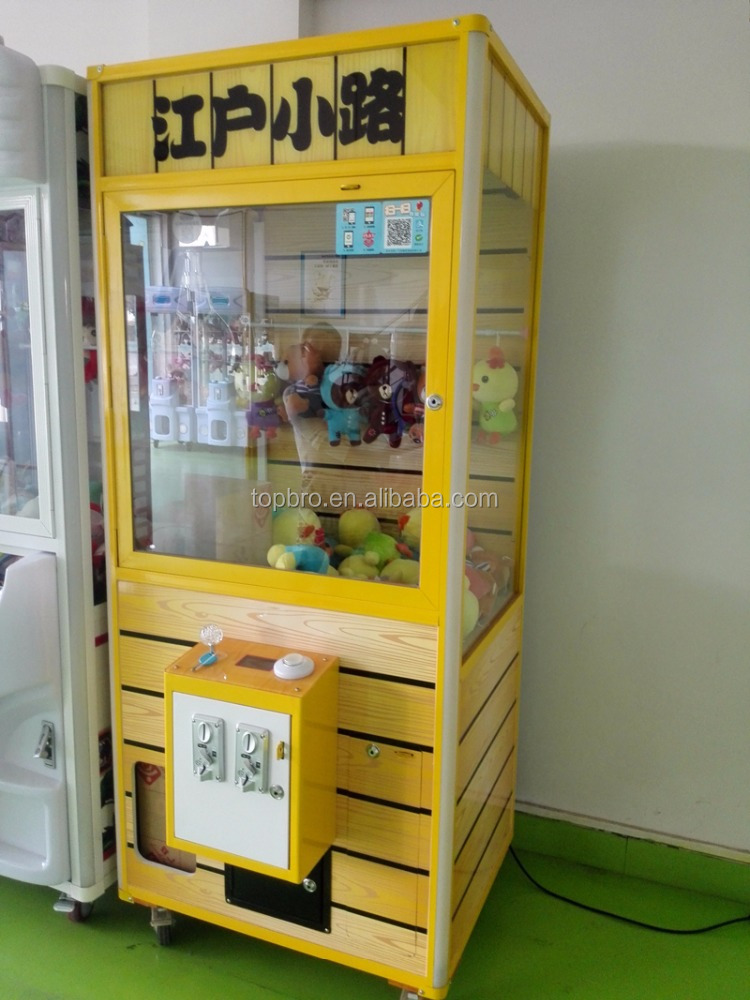 toy catcher coin operated crane machine