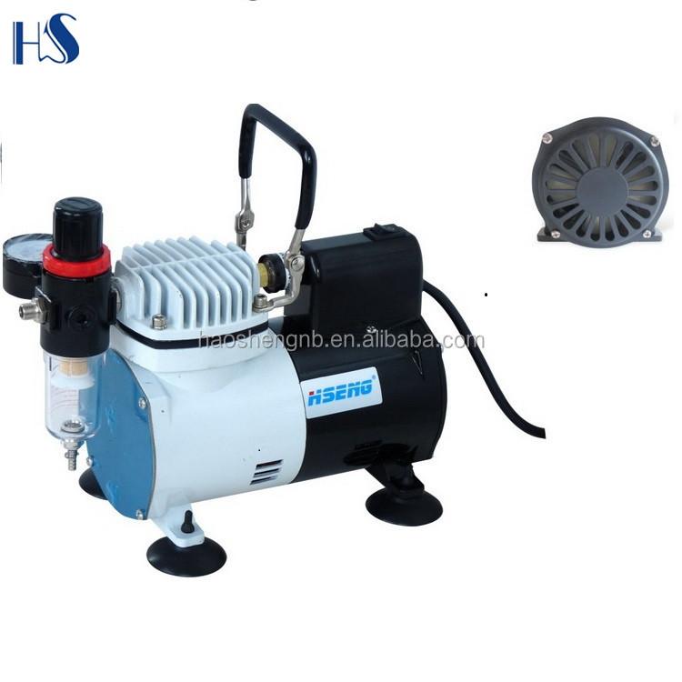 Af18 2 Hseng Nail Airbrush Machine Hobby Compressor Temporary Tattoo Mini Air Pump Kit Tanning