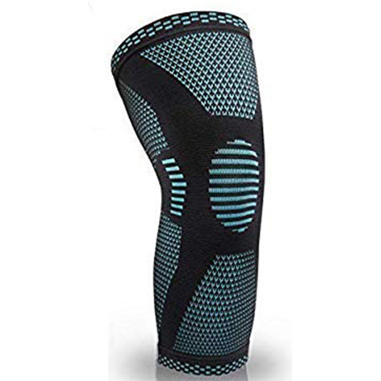2019 amazon Weightlifting Knee Sleeve Compression Running Knee Support Gym Equipment Knee Brace for Running