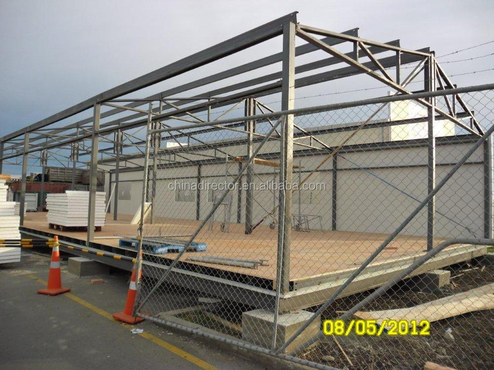Mobile prefab houses with light steel structure and for Prefab framing