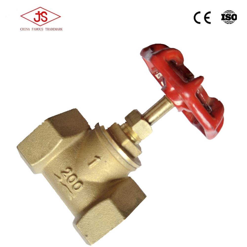 high-quality brass stop valve globe valve/stopcock for water