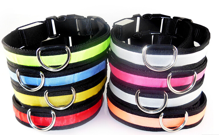 dog collars and leads dog collar with led light