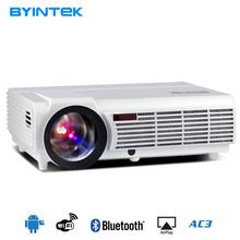 Best Cheap Family TV Home Theater 5500 High Lumens Full HD 1080p 3D LED Lamp Video HDMI Android Digitable LCD Projector