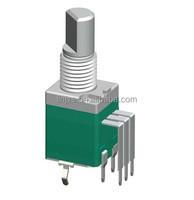 B500K Rotary Potentiometer Type,9mm rotary potentiometer,rotary volume control switch