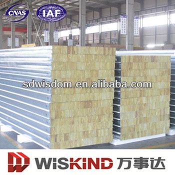 Light weight rock wool insulation panel with sgs for Mineral wool insulation weight