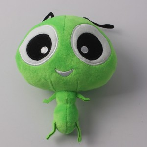 New Design Cheap Soft Cartoon Insect Stuffed Plush Ant Toy