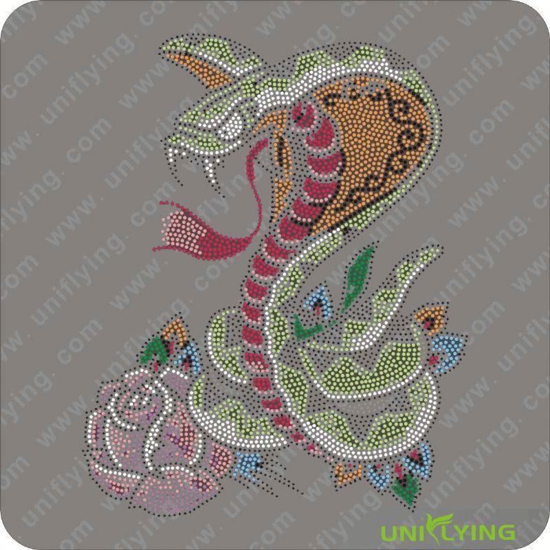 картинки змея стразами днем