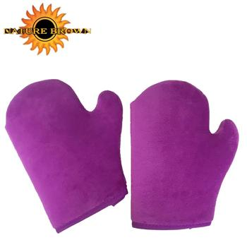 Sunscreen Applicator Double Sided Self Tanning Mitt With Thumb