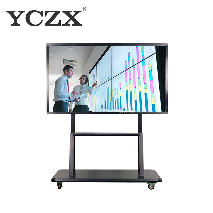 Kantoor business training smart touchscreen interactieve whiteboard