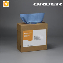 Lint Free110gsm Blue Pop Up Nonwoven PP Wiper