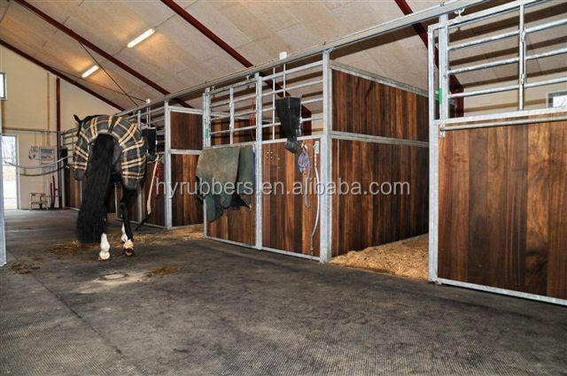 China Horse Stall Rubber Mats Cow Horse Stable Rubber