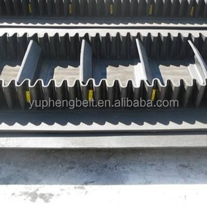 Hot new products fabric ep nylon nn sidewall side wall rubber conveyor belt for construction machinery