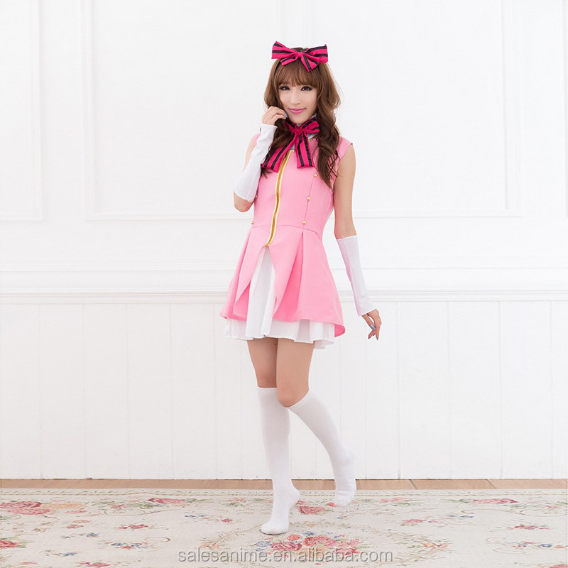 Japanese School Girl Students Halloween Party Uniform Sexy Cosplay Anime Costume