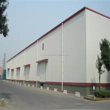 SGS certificated steel structure factory warehouse building