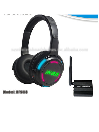 New Design RF Wireless Stereo Silent Disco Silent Party Headphone