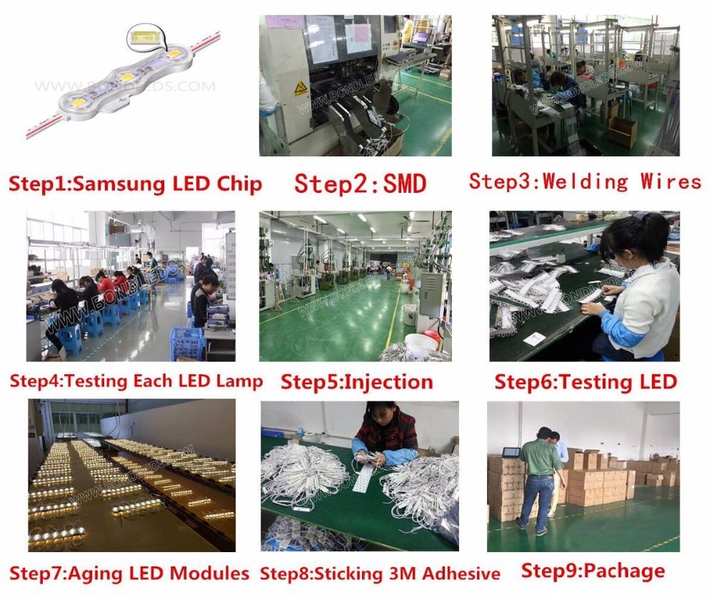 Hot!!ce Rohs Ul 1.2w 12v 3leds 5630 Samsung Led Module Korea Lens ...