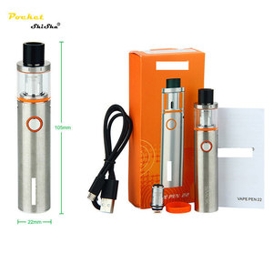 china wholesale big smoke e cigarette vape pen 22 hookah vapor