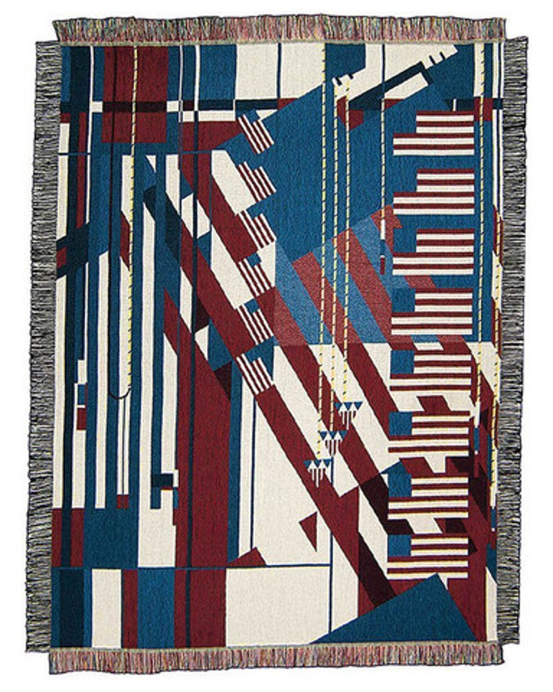 Get Quotations Frank Lloyd Wright 50 X 70 Flag Tapestry Throw Blanket