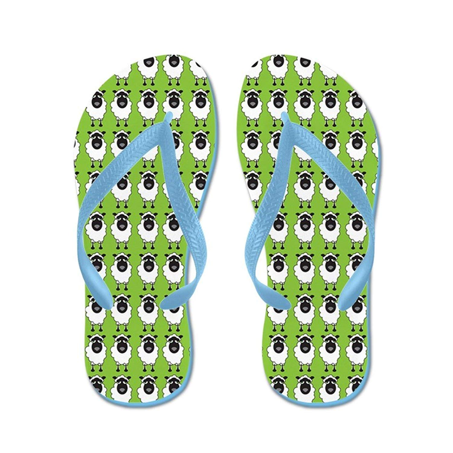 Lplpol Rainbow Wave Flip Flops for Kids and Adult Unisex Beach Sandals Pool Shoes Party Slippers