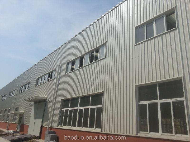 Acero Prefabricado Edificio Estructural Con Altillo Metal Taller ...