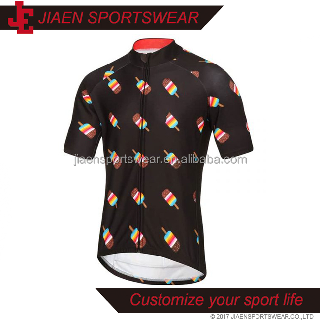 Custom Quick-Dry Biking cute pattern Cycling Clothes Lightweight Bicycle Jersey Cycling Breathable Mountain Bike Jerseys