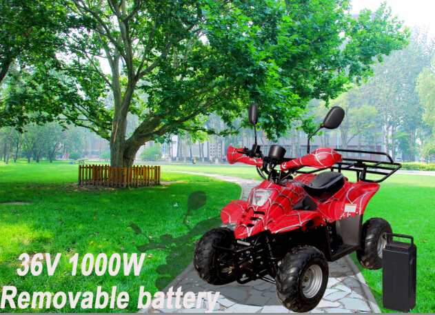 2015 Removable Battery Mini Kids Electric Quad 36v 1000w