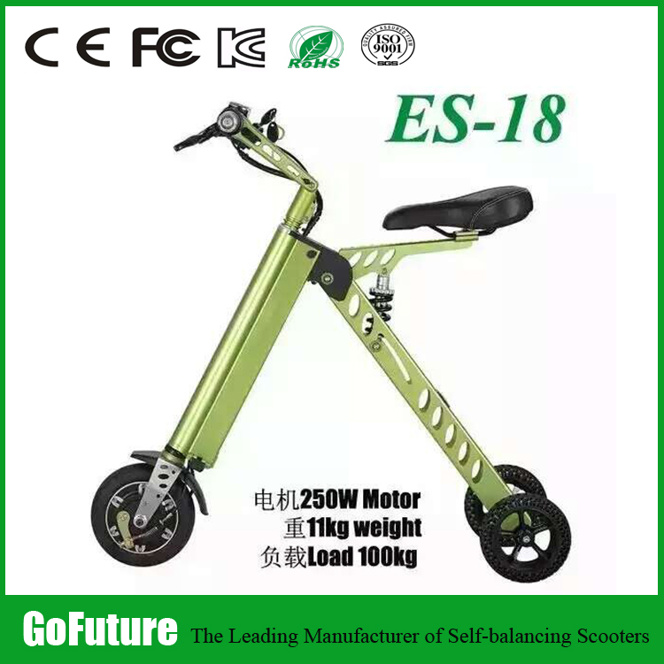 most lightest carbon fiberself balancing electric foldable bike/e scooter
