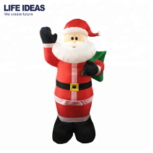 10ft/3meter christmas outdoor giant santa claus, airblown inflatable big santa yard decoration