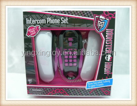 hot sale kids phone intercom walkie talkie toy buy. Black Bedroom Furniture Sets. Home Design Ideas