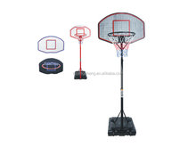 Portable leisure basketball stand for children