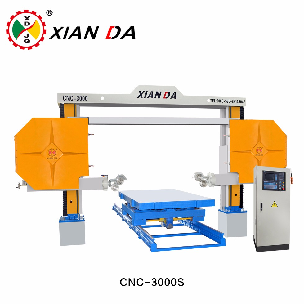 Xianda Cnc Software Programs Diamond Wire Saw Stone Cutting Machine ...