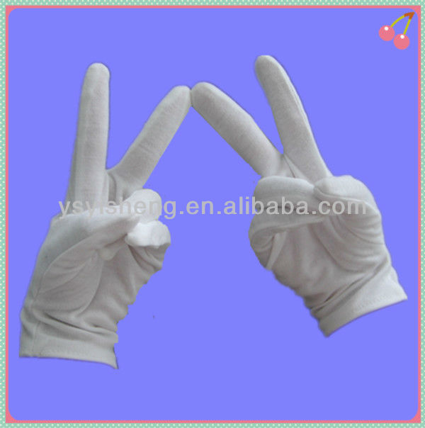 hot sale ladies thin etiquette glove white thin women's gloves from hand gloves manufacturer