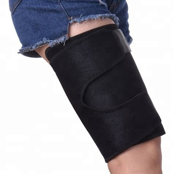 China manufacture adjustable Thigh Support Wrap Fits Men Women Recovery Thigh Compression Sleeve Support wrap brace