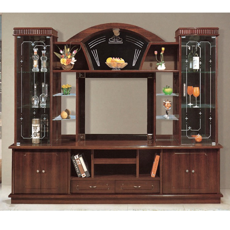 Tv Stand Showcase Designs Living Room : Hot designs mdf tv stands with showcase india style