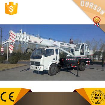 Chinese Mobile Crane 12 Ton Pickup Truck Boom Lift