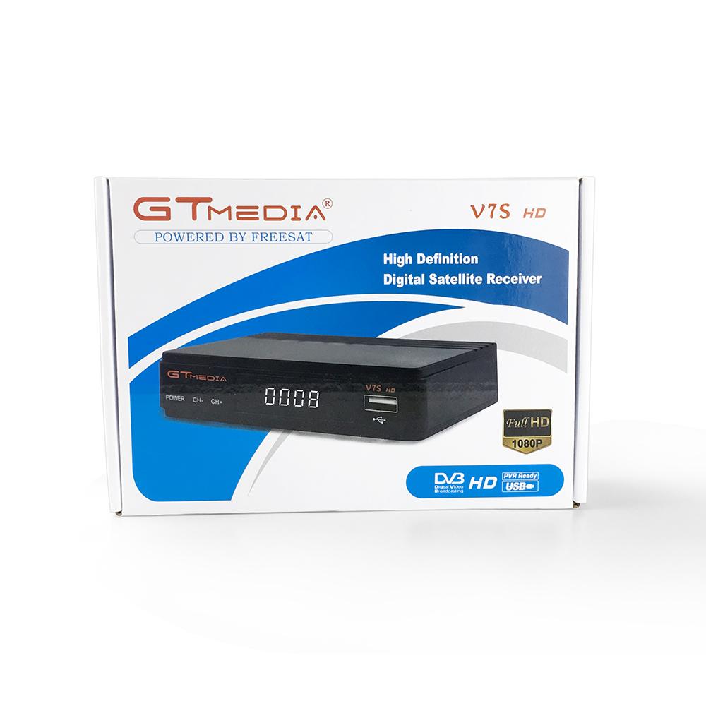 Dre /& Biss Key a trav/és de USB WiFi Dongle Youtube PowerVu Newcam GT Media V7S HD Receptor Sat/élite DVB-S//S2 USB WiFi Incorporado Buscador de sat/élite Decodificador Full HD 1080p Soporte PVR
